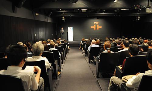 連日満席が続くセルバンテス文化センター(2013年・第8回)Full house at Instituto Cervantes de Tokio(8th, 2013)