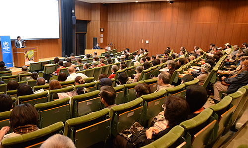 札幌初上映の北海道大学札幌キャンパス(2014年・第9回)/Screening event at Hokkaido University Sapporo Campus(9th, 2014)