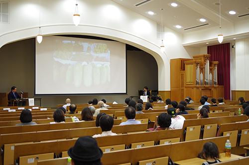 関西学院大学西宮キャンパスで開催された兵庫県西宮上映(2014年・第9回)/Screening event at Kwansei Gakuin University Nishinomiya Campus(9th, 2014)