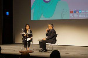11月5日(日)レソラNTT夢天神ホールにて『シリアに生まれて』の上映後、JICA中東・欧州部中東第二課企画役柳竜也さんをお迎えしてトークイベント